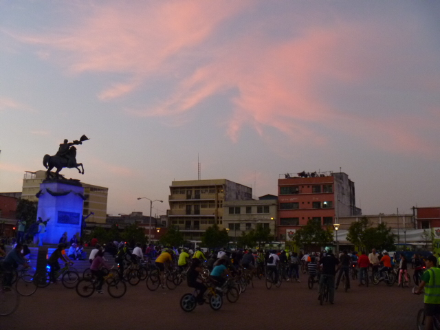 Critical Mass Guatemala City