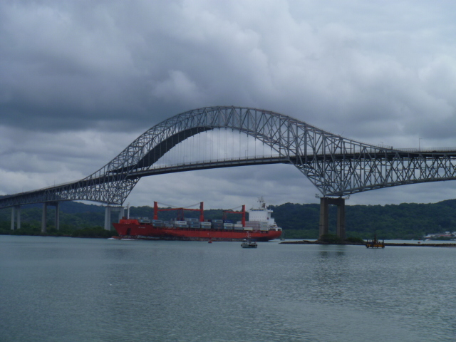 Bridge of the Americas over the Panama canal