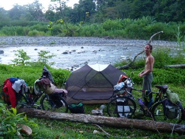 19 Camping along the river