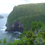 North Kohala hike across the valleys